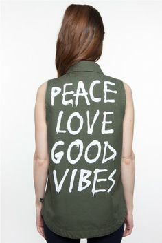Glamour Kills The Visionary Military Surplus Vest