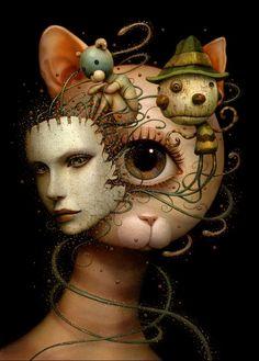 Naoto Hattori Surrealist painter