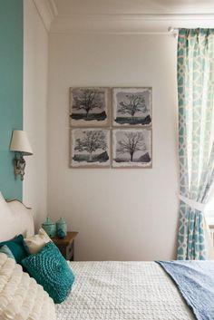 Színek és textúrák remek kombinációja, gyönyörű előszoba - 130nm-es lakás eklektikus lakberendezéssel
