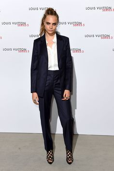 Cara Delevingne attends the Louis Vuitton Series 3 VIP Launch in London on Sept. 21, 2015.   - Cosmopolitan.com
