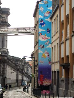 Comic strip walk in Brussels, Belgium   smarksthespots.com