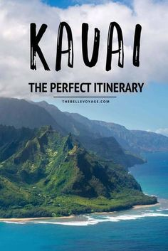 Kauai, Hawaii – The Perfect Itinerary for First Timers – The Belle Voyage Hawaii Travel Guide, Usa Travel Guide, Travel Usa, Travel Tips, Travel Hacks, Travel Packing, Travel Guides, Overseas Travel, Packing Lists