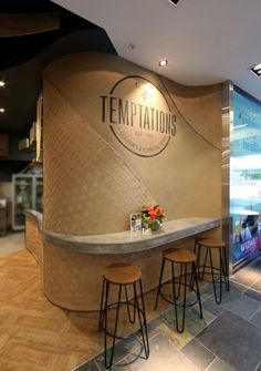 Temptations bakery & patisserie by Masterplanners Interiors, Perth – Australia » Retail Design Blog