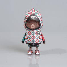 [ BEAR ] Paper toy of Boogiehood on Toy Design Served
