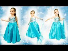 0d627f1f63 DIY  COSTURA VESTIDO ELSA- FROZEN  Vestido Inspirado  Dress Elsa Frozen