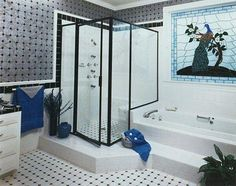 Custom shower doors by Jones Glass. Follow us to see more!