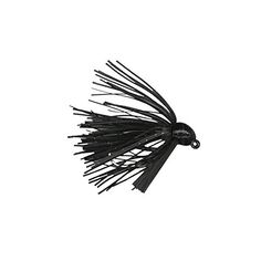 Strike King Bitsy Bug Mini Jig Bait (Black, 0.1875-Ounce)  http://fishingrodsreelsandgear.com/product/strike-king-bitsy-bug-mini-jig-bait/?attribute_pa_color=black&attribute_pa_size=0-1875-ounce  Premium silicone skirt gives more action than a soft plastic body. Fiber weedguard helps prevent line from being cut like it can on wire guards. Inverted line tie on the upper part of head helps keep line from being frayed on rocks.