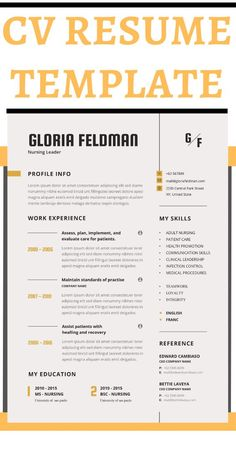 Nurse and Medical resume template, cover letter and references for Word. Resume templates are professional designed that why you can create a modern resume and increases chances to get that interview you've been waiting for. All designs are easy to edit and fully customizable. You can change text, colors, fonts, titles add or delete sections. #NurseResumeTemplateGoogle Doc #NurseResumeTemplateWord #NurseResumeAndCover Letter #RegisteredNurseResume #ResumeTemplateNurse New Grad Nursing Resume, High School Resume, Nursing Resume Template, Resume Templates, Teaching Resume Examples, Sales Resume Examples, Resume Objective Examples, Resume Action Words, Resume Words