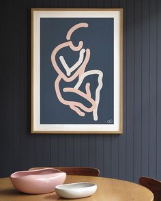 Check out the Matisse like work of former graphic designer @carolinewallsart on the blog this morning #linktobloginbio #art #artist #affordbleart #matisse #nudes