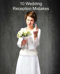 10 Wedding Reception Mistakes #weddingmistakes #weddingplanning #weddings #weddingreception  http://ift.tt/29FDtSv