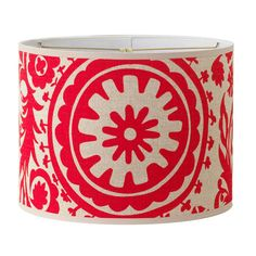 16 inch Suzani Drum Lamp Shade More colors!