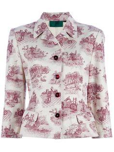 JEAN PAUL GAULTIER VINTAGE Print Jacket