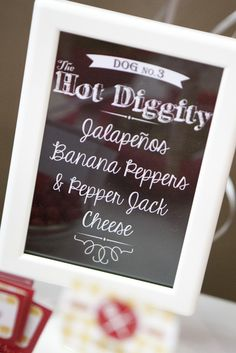 Hot Dog Bar Party | CatchMyParty.com