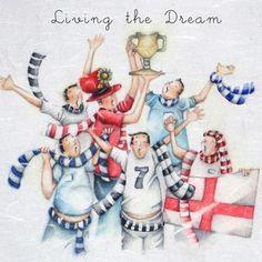 Vivendo o sonho - Berni Parker - Daisy Chain Gift Company - cartões, presentes  Embalagem Bespoke
