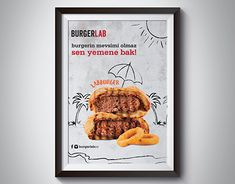 """Check out new work on my @Behance portfolio: """"Poster Design for BurgerLab"""" http://be.net/gallery/45717369/Poster-Design-for-BurgerLab"""