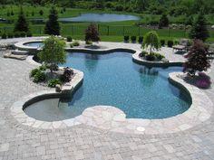 sweet inground pool