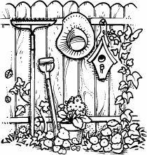 Garden Scene K-107