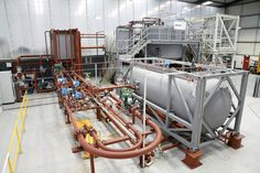 Transvac research facility complete with multi-phase test loop