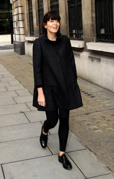 Image result for claudia winkleman style Perfect Wardrobe, Work Wardrobe, City Style, Her Style, Claudia Winkleman, Curvy Outfits, Work Outfits, Winter Looks, Winter Style