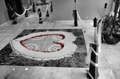 Ocean Coral & Turquesa Beach Resort - Puerto Morelos Mexico.  Wonderful wedding coordinators, turned my bad weather beach ceremony into an unmatched one-of-a-kind ceremony in the convention center.  Staff created a Heart of Sand, lined with thousands of seashells and hundreds of rose pedals.