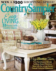 390 best country sampler magazine images country sampler magazine rh pinterest com