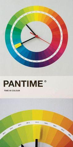 Horas coloridas!