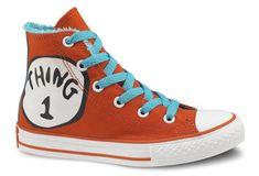 Converse has partnered Dr. Seuss Enterprises for a line of Dr. Seuss shoe