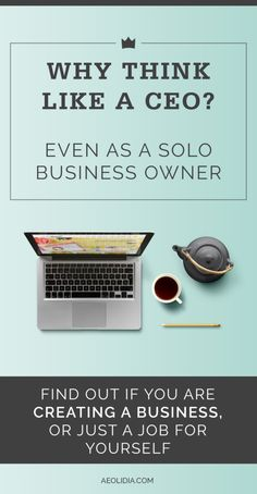 How to grow your business by stepping back and delegating tasks that don't fit into your ideal role as CEO. Click to read more, or save this pin to read later!