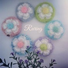 Crochet Patterns, Tableware, Dishcloth, Flowers, Blog, Dinnerware, Crochet Pattern, Tablewares, Blogging