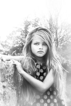 thylane lena rose blondeau- high fashion's latest muse. Seriously- this girl is Gorgeous. She's like a mix between Georgia may Jagger, Bridgette Bardot, and Gemma Ward. She is gonna be HUGE when she gets older