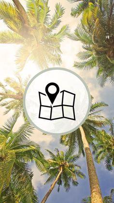 #HIGHLIGHTLAYER Instagram Logo, Instagram Story, Beach Icon, Summer Icon, Insta Icon, Instagram Highlight Icons, Logo Sticker, Story Highlights, Pretty Pictures