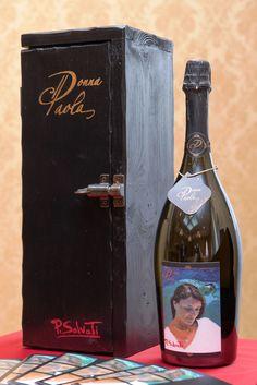 PAOLO SALVATI - Serie UNICA 2010. Bottiglia d'Autore.