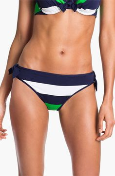 3338b915b74c7 Tommy Bahama  Rugby Stripe  Reversible Hipster Bikini Bottoms