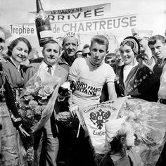 Anquetil wins his 2nd Dauphine in 1965.......