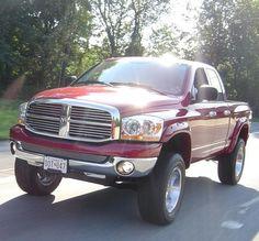 2006 Dodge Ram. 1500er lifted