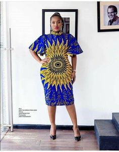 Simple and Elegant Ankara Short Gown Styles : Simple Styles.Simple and Elegant Ankara Short Gown Styles : Simple Styles African Dresses For Women, African Print Dresses, African Print Fashion, African Attire, African Wear, African Fashion Dresses, African Women, African Prints, Ankara Fashion