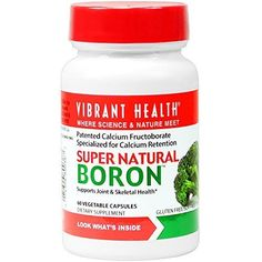 Vibrant Health - Super Natural Boron - 60 count (FFP) by Vibrant Health - https://all4babies.co.business/vibrant-health-super-natural-boron-60-count-ffp-by-vibrant-health/  #Boron, #Count, #Health, #Natural, #Super, #Vibrant #Health,CareSafety