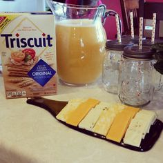 It's a beautiful day for a @britandco DIY party. @triscuit #iamcreative #madeformore