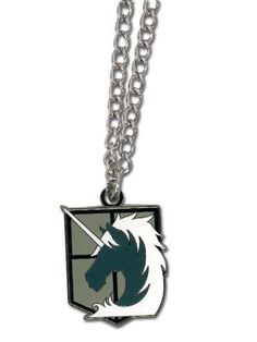 Attack On Titan Military Police Emblem Necklace - Evil Entertainment
