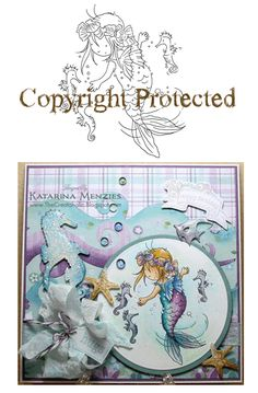 Stamp little mermaid friends card inspiration pinterest little mermaid 2 super cute i need this stamp altavistaventures Images