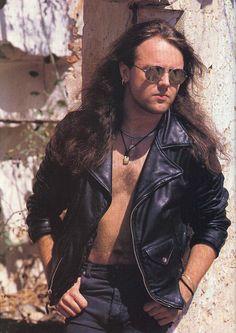 Lars Ulrich leather jacket
