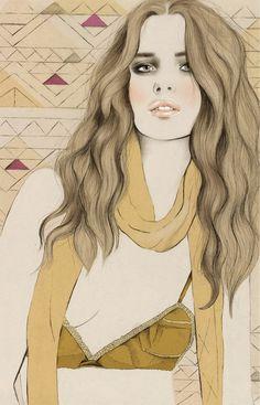 Kelly Thompson #fashion #illustration