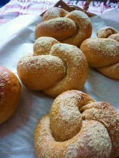 「きな粉の結びパン」katumi | お菓子・パンのレシピや作り方【corecle*コレクル】