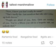 Everybody died at least ones or came very close to it except for Foaly Book Memes, Book Quotes, I Love Books, Good Books, Artemis Fowl Funny, Book Sculpture, Thats The Way, Book Fandoms, Book Nerd