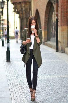 Chic and Silk: RAINBOW: Χακί. Δείτε πως να το Συνδυάσετε + Τα Καλύτερα Street Style
