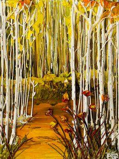 Aspen Trees By: Justin Gaffrey