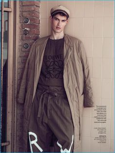 Jason Anthony embraces oversized proportions from Loewe for the pages of Esquire Philippines.