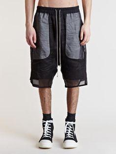 Rick Owens Men's Double Layer Shorts