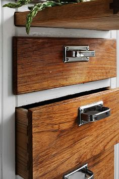 Possibly keep the cabinet facing in wood, and paint just the mounting surfaces.