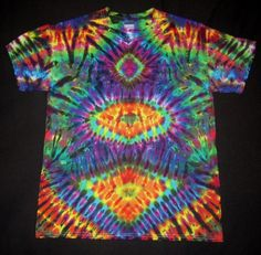 Psychedelic Stax Tie Dye TShirt Fit men's by PsychedelicTieDyes Cool Tie Dye Patterns, Cool Ties, Hippie Gypsy, Tie Dye T Shirts, Clothes Line, Mens Fitness, Wearable Art, Psychedelic, Tapestry